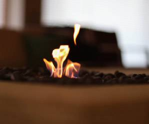 暖炉スペース